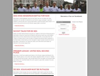 colombolions.com screenshot