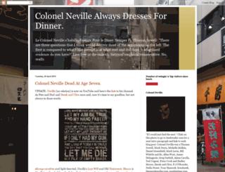 colonelrobertneville.blogspot.nl screenshot