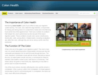 colonhealth.com screenshot