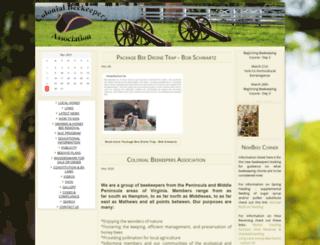 colonialbeekeepers.com screenshot