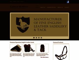 colonialsaddlery.com screenshot