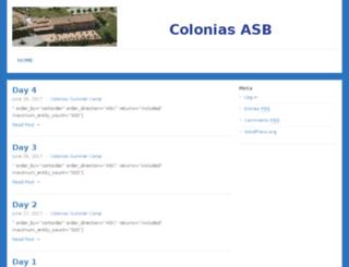 colonias.a-s-b.com screenshot