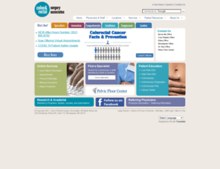 colonrectal.org screenshot