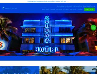 colonymiami.com screenshot