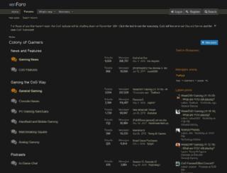 colonyofgamers.com screenshot