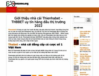 colonzone.org screenshot
