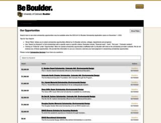 colorado.academicworks.com screenshot