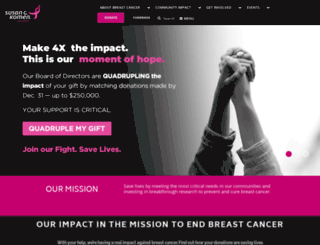 colorado.info-komen.org screenshot