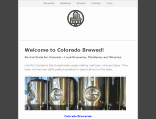 coloradobrewed.com screenshot
