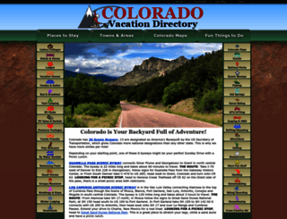 coloradodirectory.com screenshot