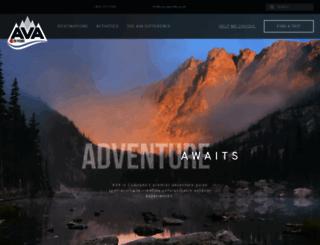 coloradorafting.net screenshot
