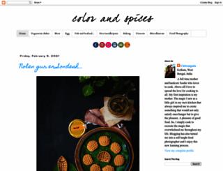 colorandspices.com screenshot