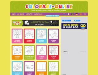 colorare-online.com screenshot