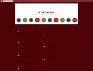 colorcanopy.blogspot.com screenshot