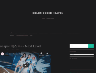 colorcodedheaven.com screenshot