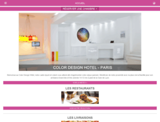 colordesign-hotel-paris.info screenshot