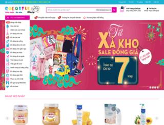 colorful4kid.com screenshot