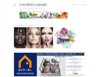 colorfulcanary.com screenshot