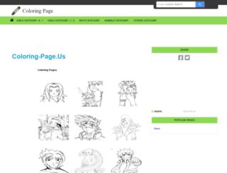 coloring-page.us screenshot