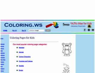 coloring.ws screenshot