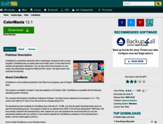 colormania.soft112.com screenshot