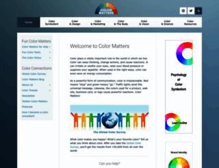 colormatters.com screenshot