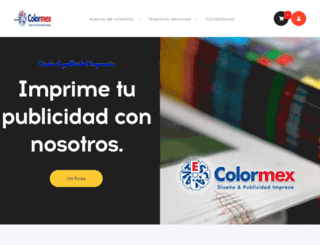 colormex.com.mx screenshot