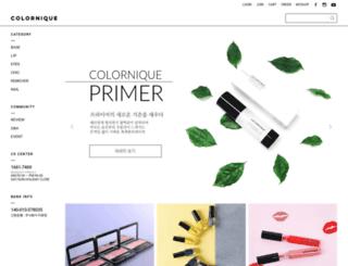 colornique.co.kr screenshot