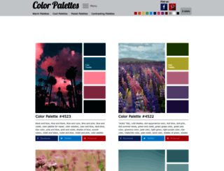 colorpalettes.net screenshot
