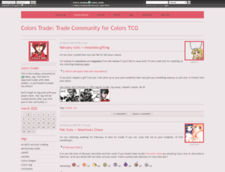 colors-trade.dreamwidth.org screenshot