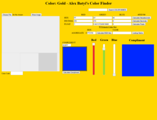 colors.batyi.com screenshot