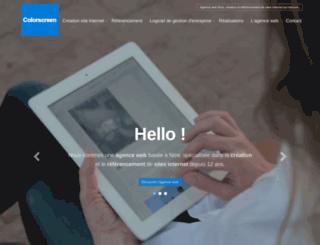 colorscreen.fr screenshot