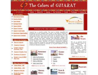 colorsofgujarat.com screenshot