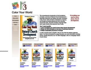 coloryourworld.org screenshot