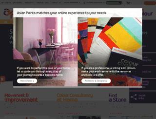 colourdezigner.asianpaints.com screenshot