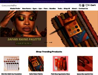 colouredraine.com screenshot