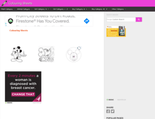 colouringsheets.net screenshot