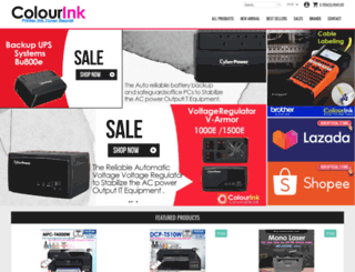 colourink.com.my screenshot
