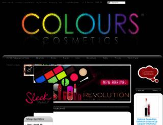 colourscosmeticsmalaysia.com screenshot
