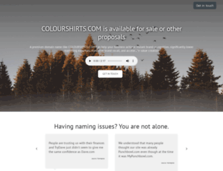 colourshirts.com screenshot