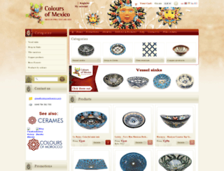 coloursofmexico.com screenshot