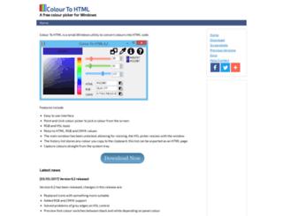 colourtohtml.matthewhipkin.co.uk screenshot