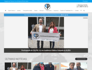 colpol.com.br screenshot