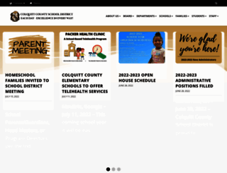 colquitt.k12.ga.us screenshot