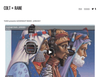colt-rane.com screenshot