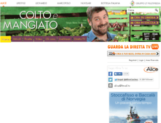 coltoemangiato.tv screenshot