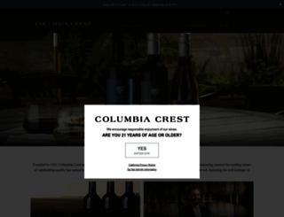 columbia-crest.com screenshot