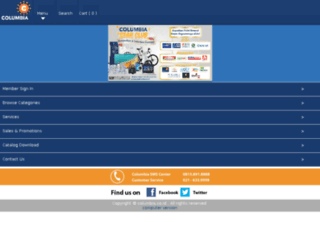 columbia.co.id screenshot