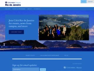 columbia111.nationbuilder.com screenshot