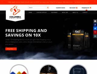 columbiacoatings.com screenshot